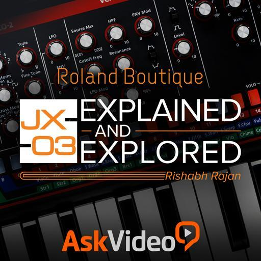JX-03 Explained and Explored
