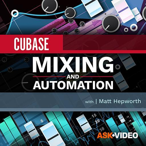 Mixing and Automation - Cubase 10 104