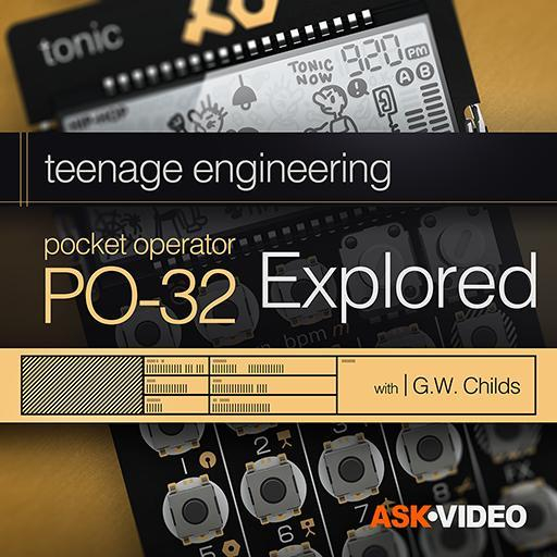 Pocket Operator 101: PO-32 Tonic Explored