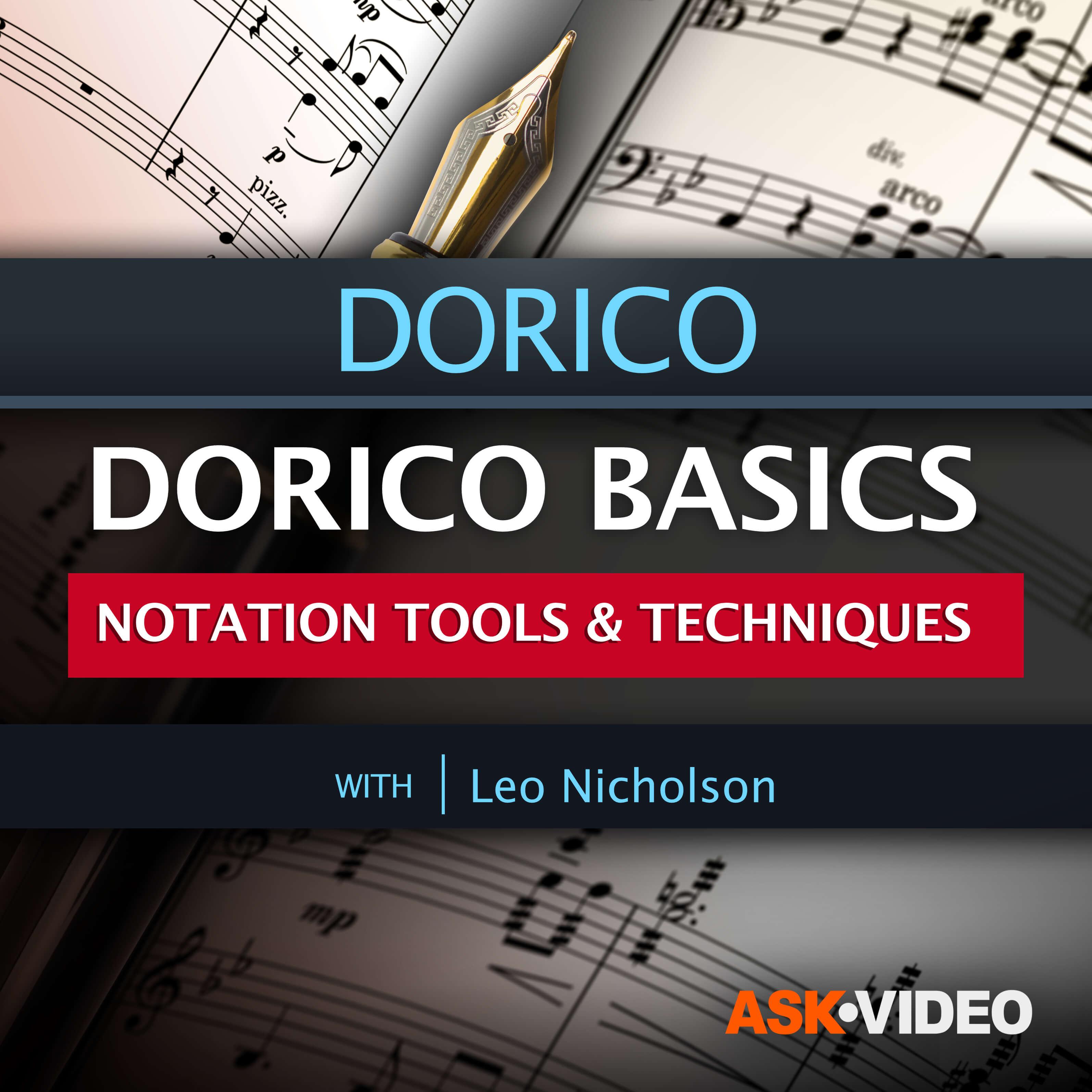 Dorico Basics: Notation Tools and Techniques
