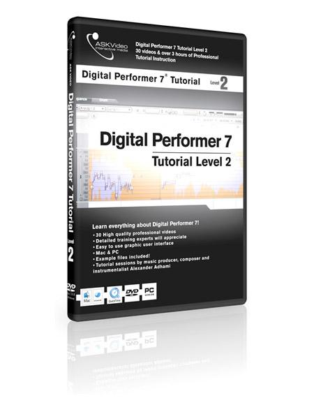 Working with Digital Performer 7 - Level 2