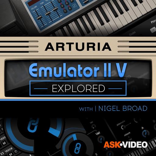 Arturia V 108: The Emulator II V Explored