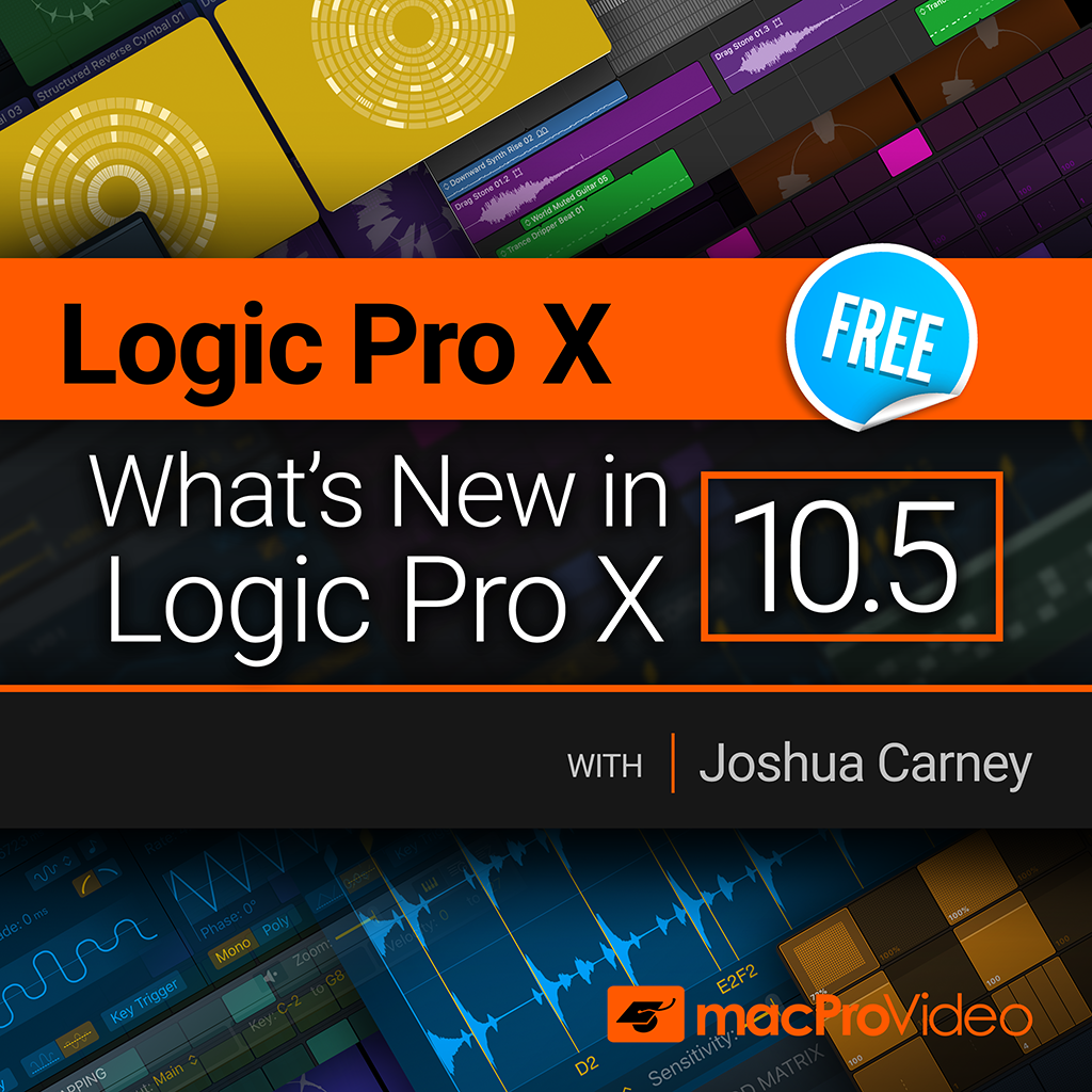Logic Pro X 100: What's New in Logic Pro X 10.5
