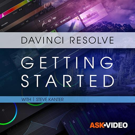 DaVinci Resolve 101: Getting Started Editing