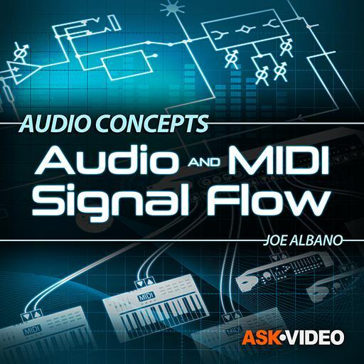 Audio and  MIDI Signal Flow