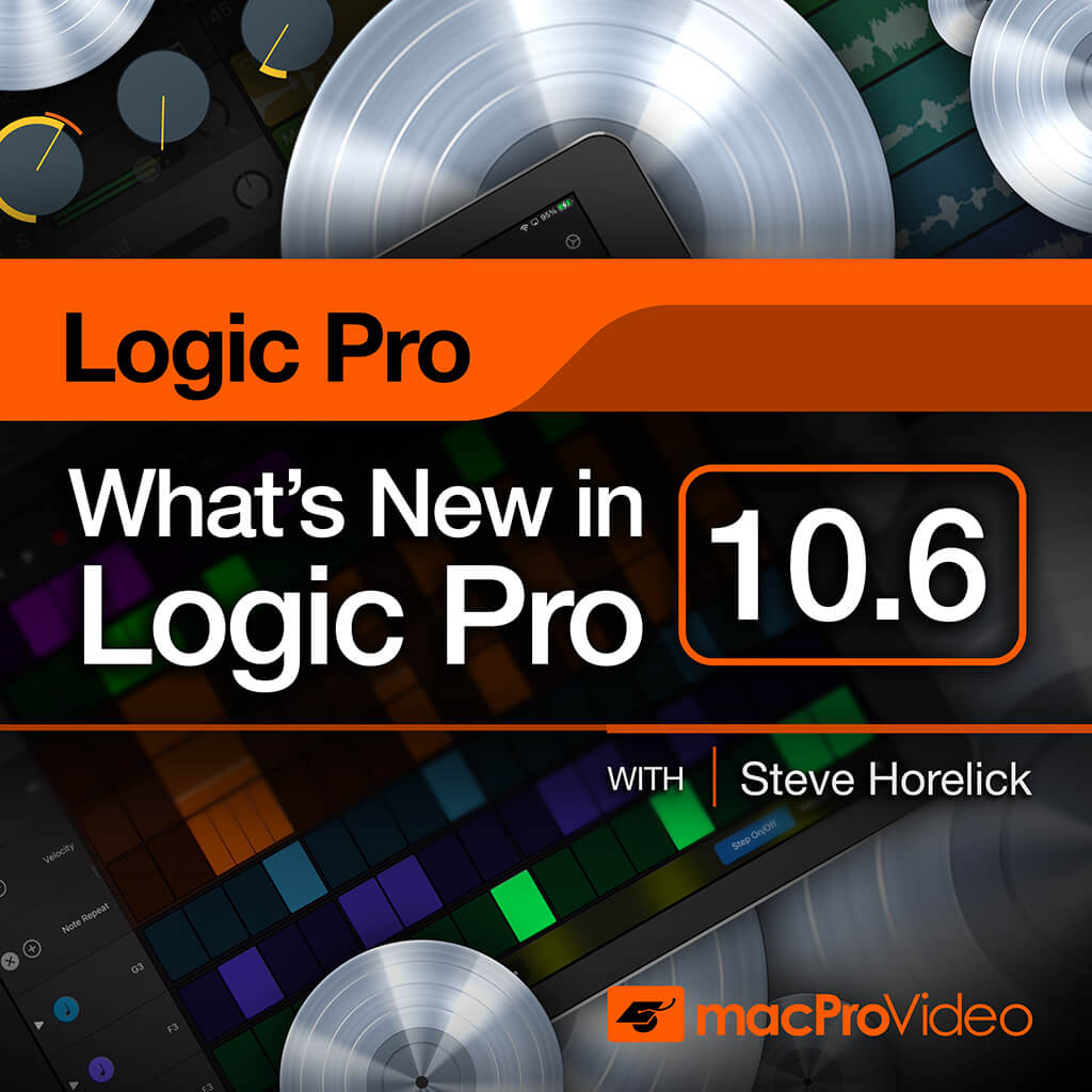 Logic Pro 10.6 100 - What New in Logic Pro 10.6