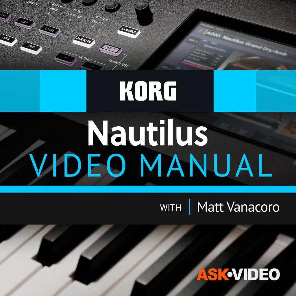 Korg Nautilus Video Manual
