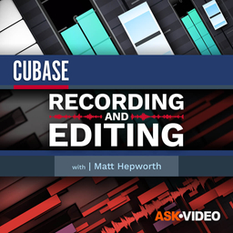 Cubase 11 102: Recording and Editing