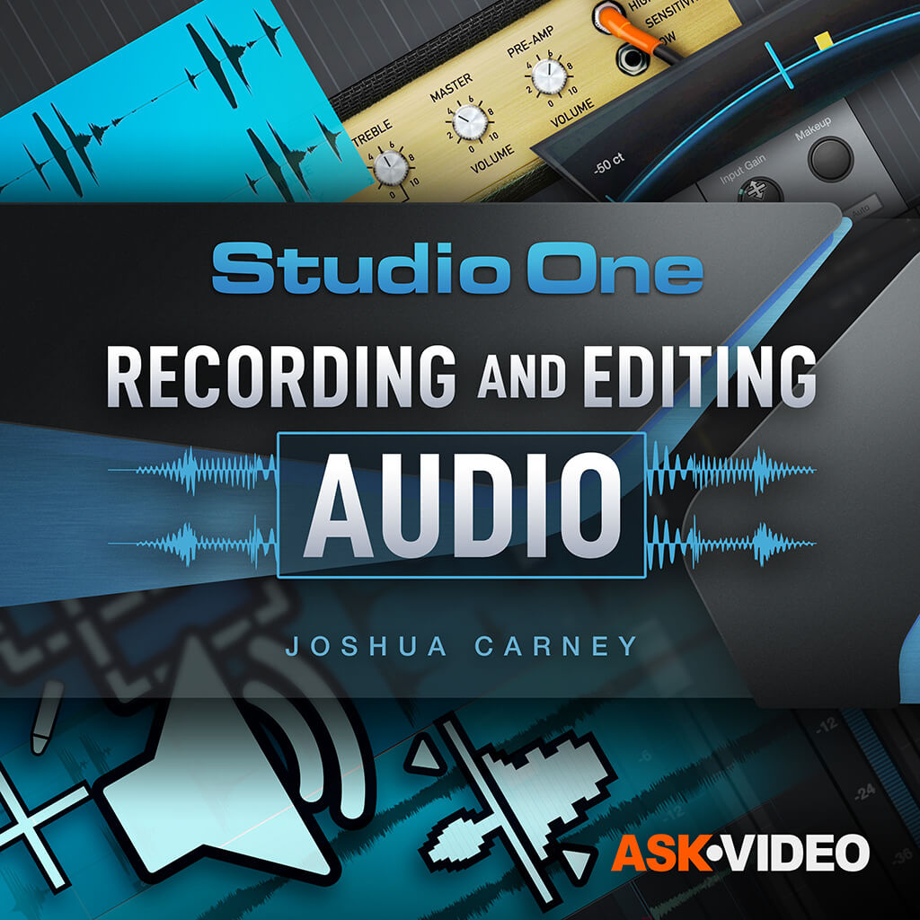 Studio One 5 103 - Recording and Editing Audio