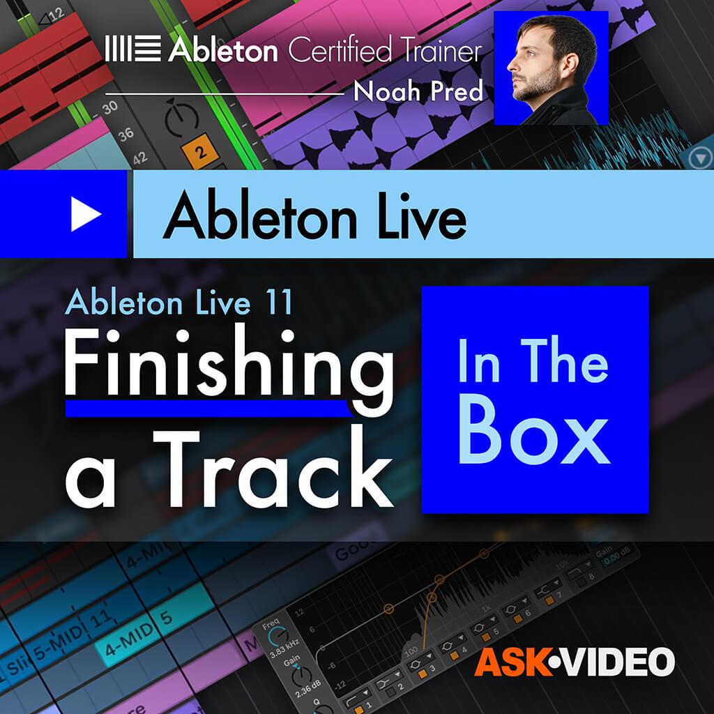 Finishing a Track
