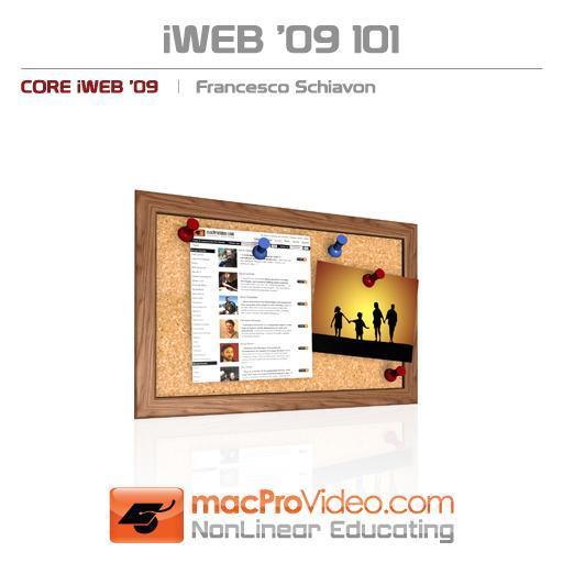 iWeb '09 101: Core iWeb '09