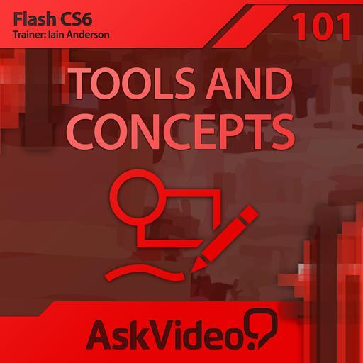 Flash CS6 101: Tools and Concepts