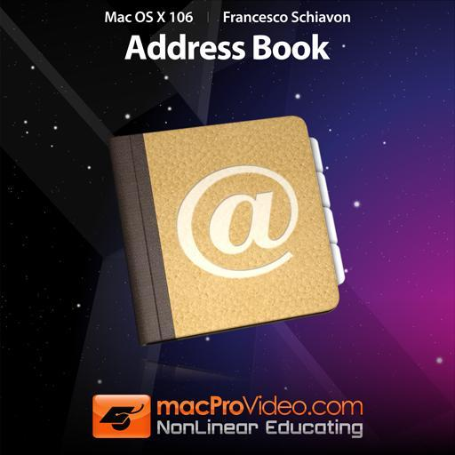 Mac OS X 106: Address Book
