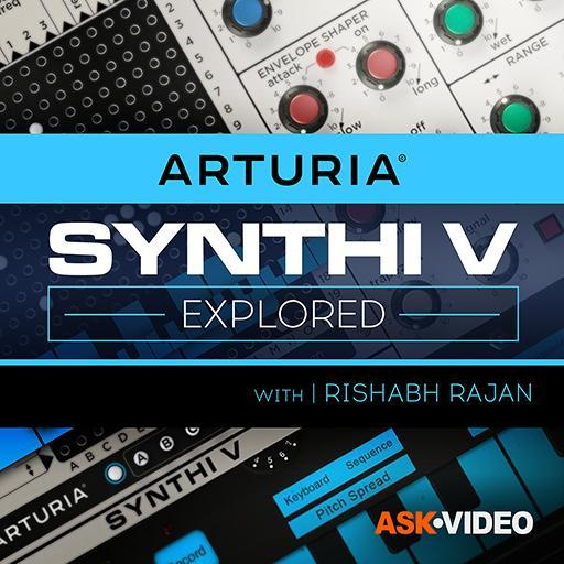 Synthi V Explored - Arturia V 105