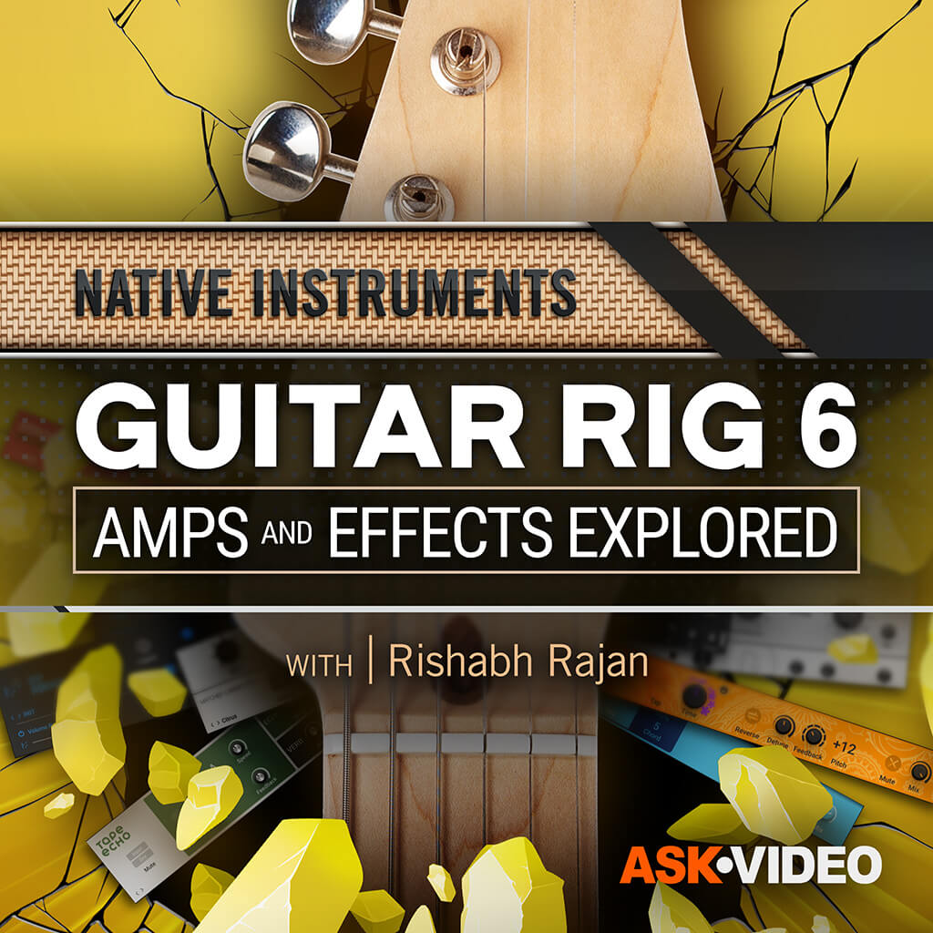 Guitar Rig: Amps and Effects Explored