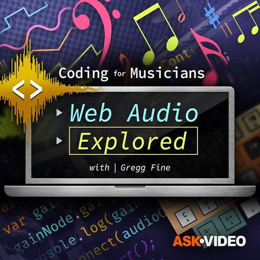 Coding For Musicians 101: Web Audio Explored