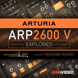 Arturia V 106: ARP 2600 V Explored