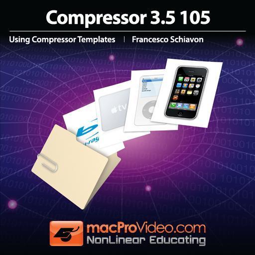 Compressor 3.5 105: Using Compressor Templates